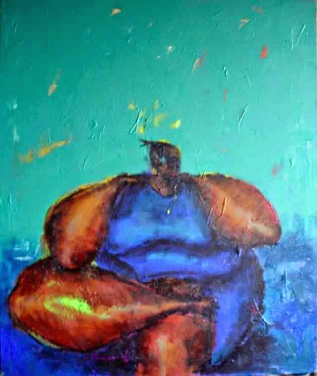 Современный нигерийский художник. Uthman O Wahaab