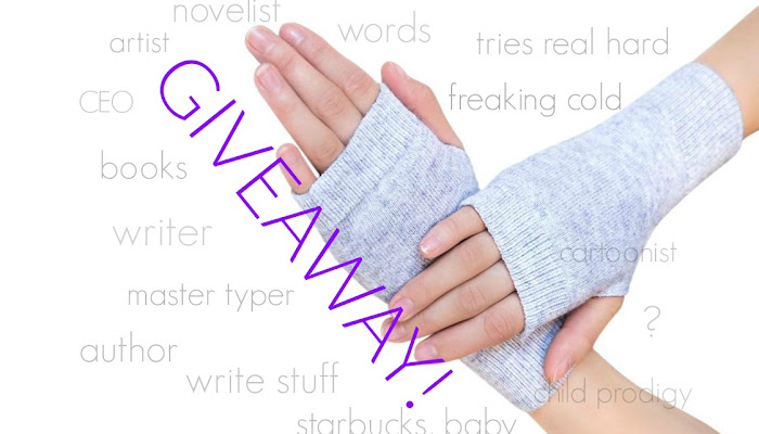 Cashmere Writing Glove GIVEAWAY