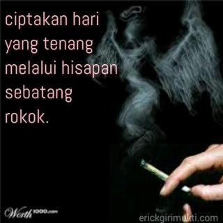 kata kata merokok sambil ngopi