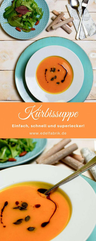 Hokaido Kürbissuppe, Suppen im Herbst,