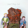 "TreeBeard Cake ""Lord of the Rings"""