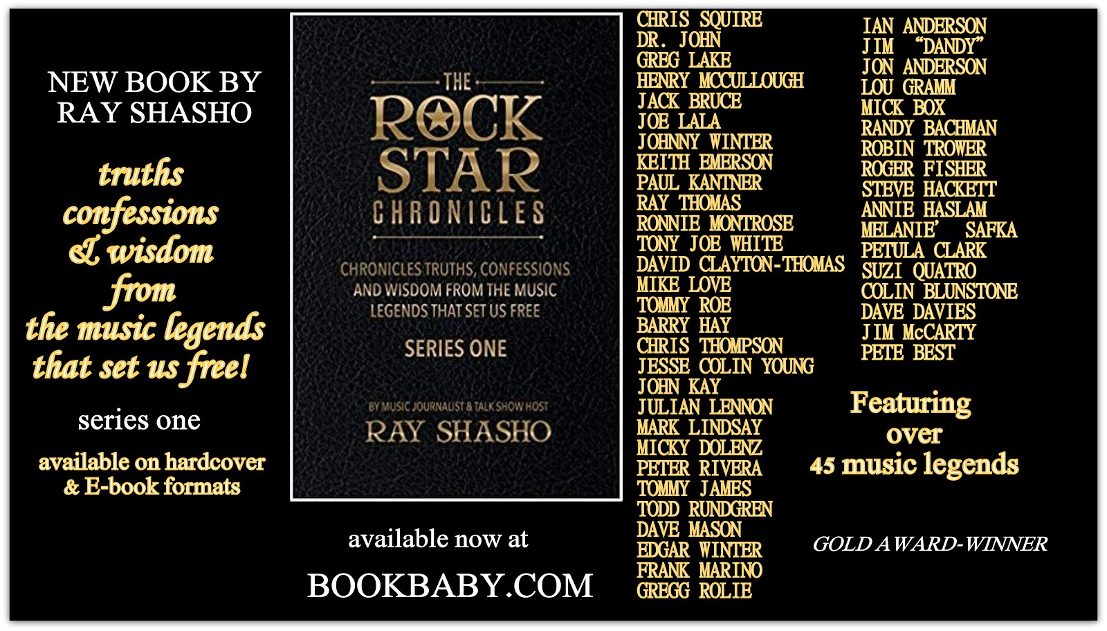 THE ROCK STAR CHRONICLES-SERIES ONE