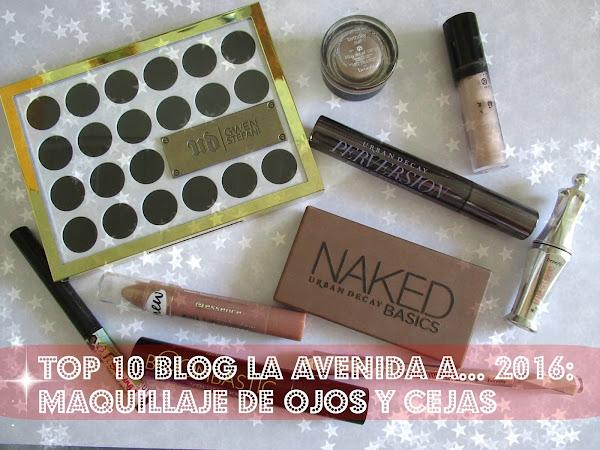 Top 10 Blog La Avenida A... 2016: Maquillaje de ojos y cejas