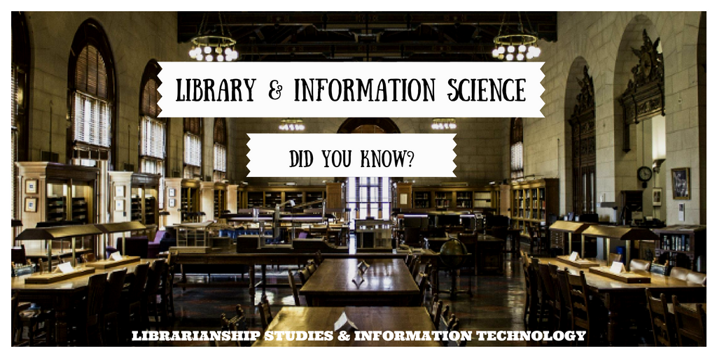 Library and Information Science - Did You Know?