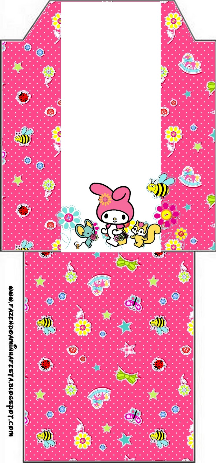 My Melody Birthday Party Free Party Printables Papers