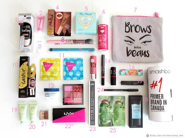 Generation Beauty GenBeauty 2016 Toronto Haul Free Products