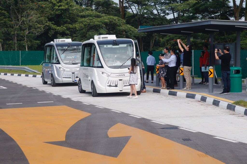 Driverless buses to ply Punggol, Tengah, Jurong Innovation District from 2022