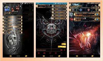 BBM MOD Thema Dragon New Based 2.12.0.11 Apk