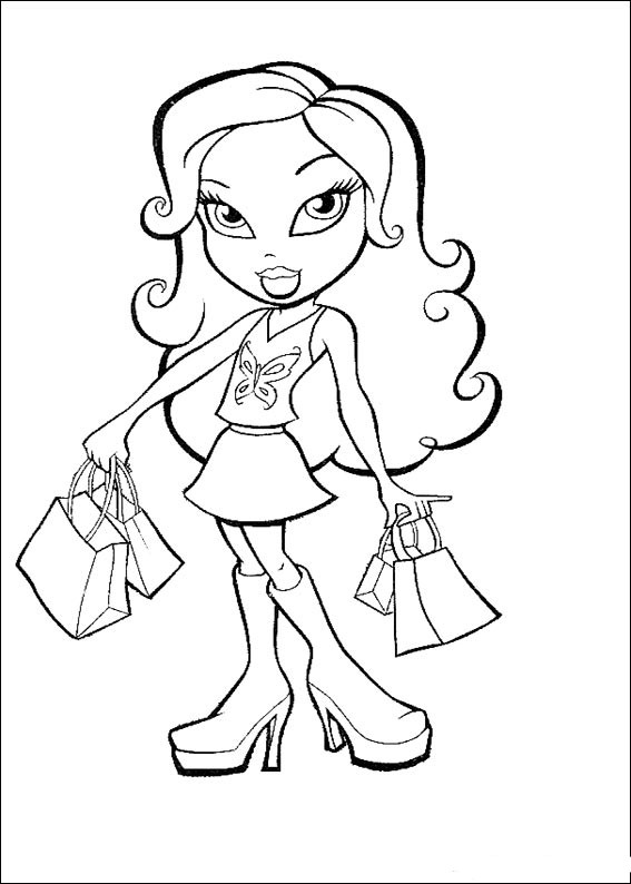 Drawings Of Bratz Coloring Child Coloring
