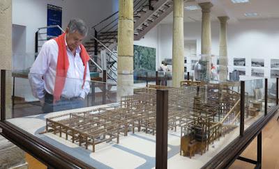 Museo de Historia de Avilés. Maquetas e historia de ENSIDESA. Aceria LDIII (1989) en Tabaza