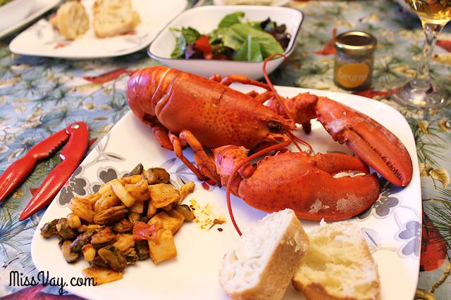 Le homard de la Gaspésie, le meilleur