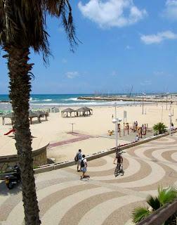 Gordon Beach Promenade Tel Aviv Israel