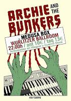 Concierto de Archie and the Bunkers y Medusa Box en Wurlitzer Ballroom