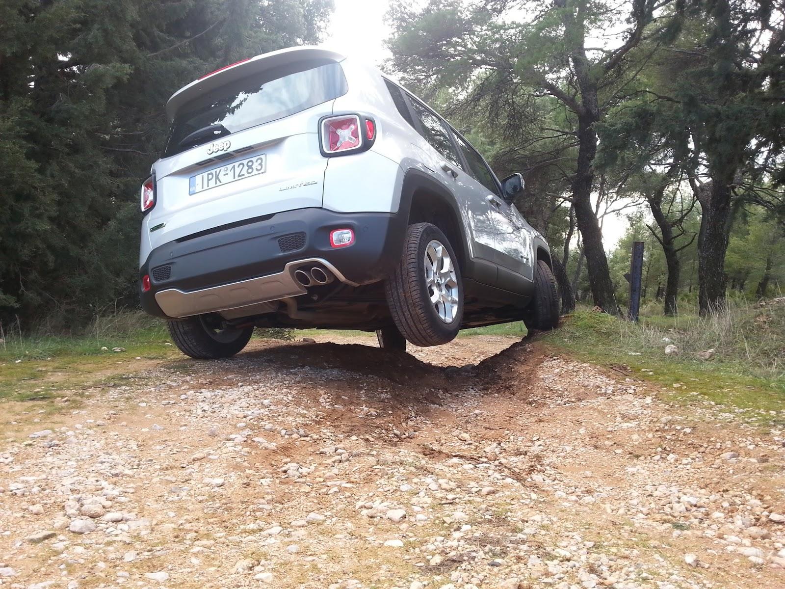 f3 Ρίχνουμε ένα Jeep Renegade σε λάσπη, χιόνι, χώμα