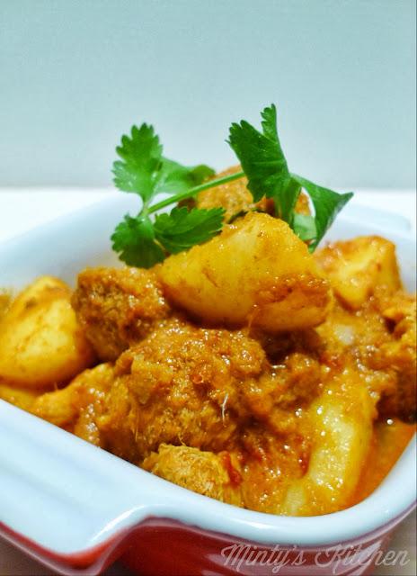 Hericium erinaceus curry