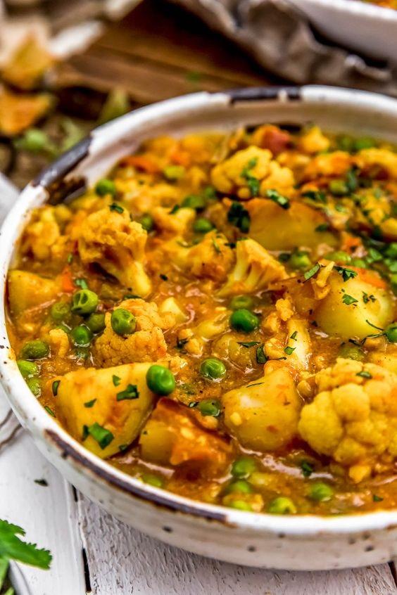 Cauliflower Potato Curry