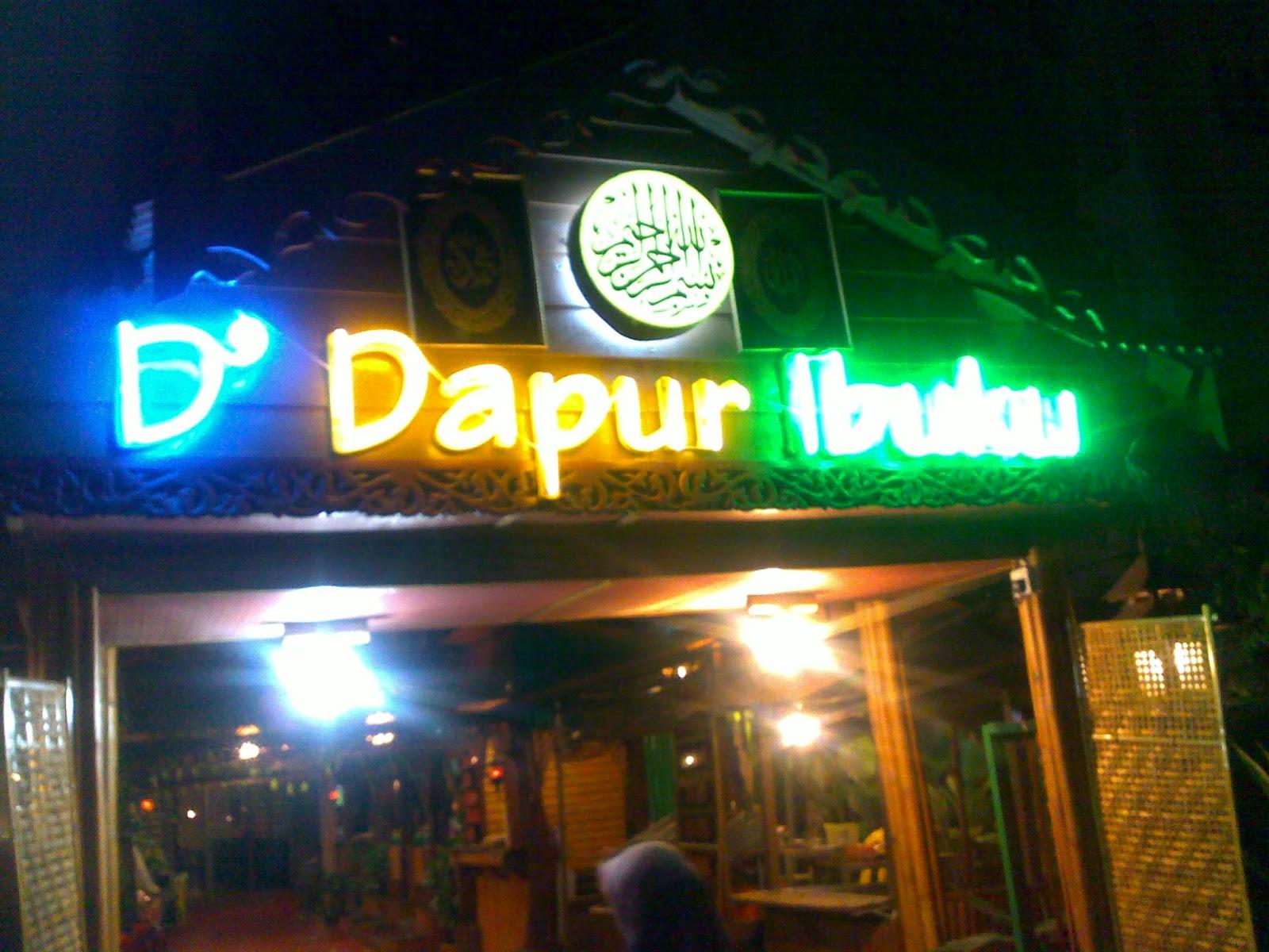 Jalan Cari Makanan Di Restoran D Dapur Ibuku Alor Star Kedah