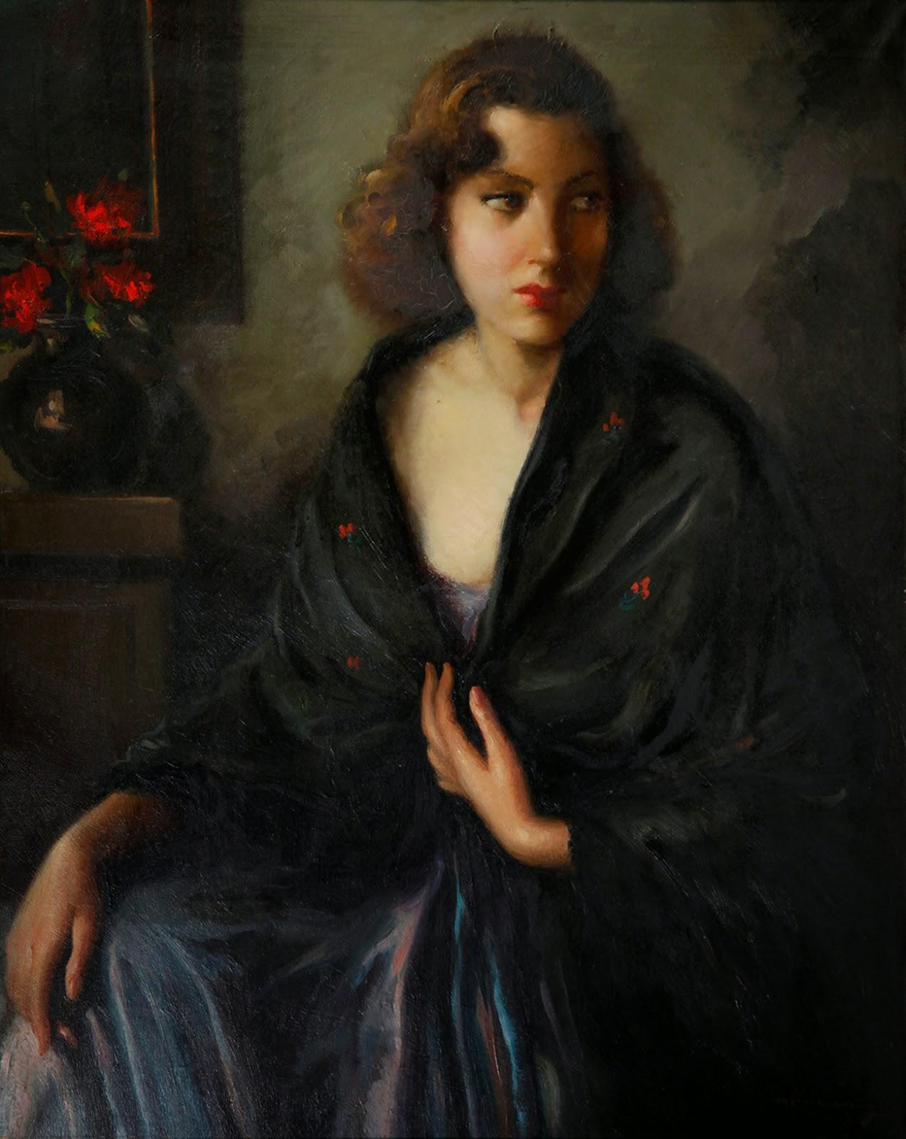 Joaquín Angulo García, Maestros españoles del retrato, Retratos de Joaquín Angulo García, Pintores españoles, Pintores de Sevilla