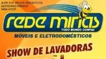 Promoção Rede Minas 2019 Show Lavadoras - Concorra 30 Lavadoras Automáticas 11kg
