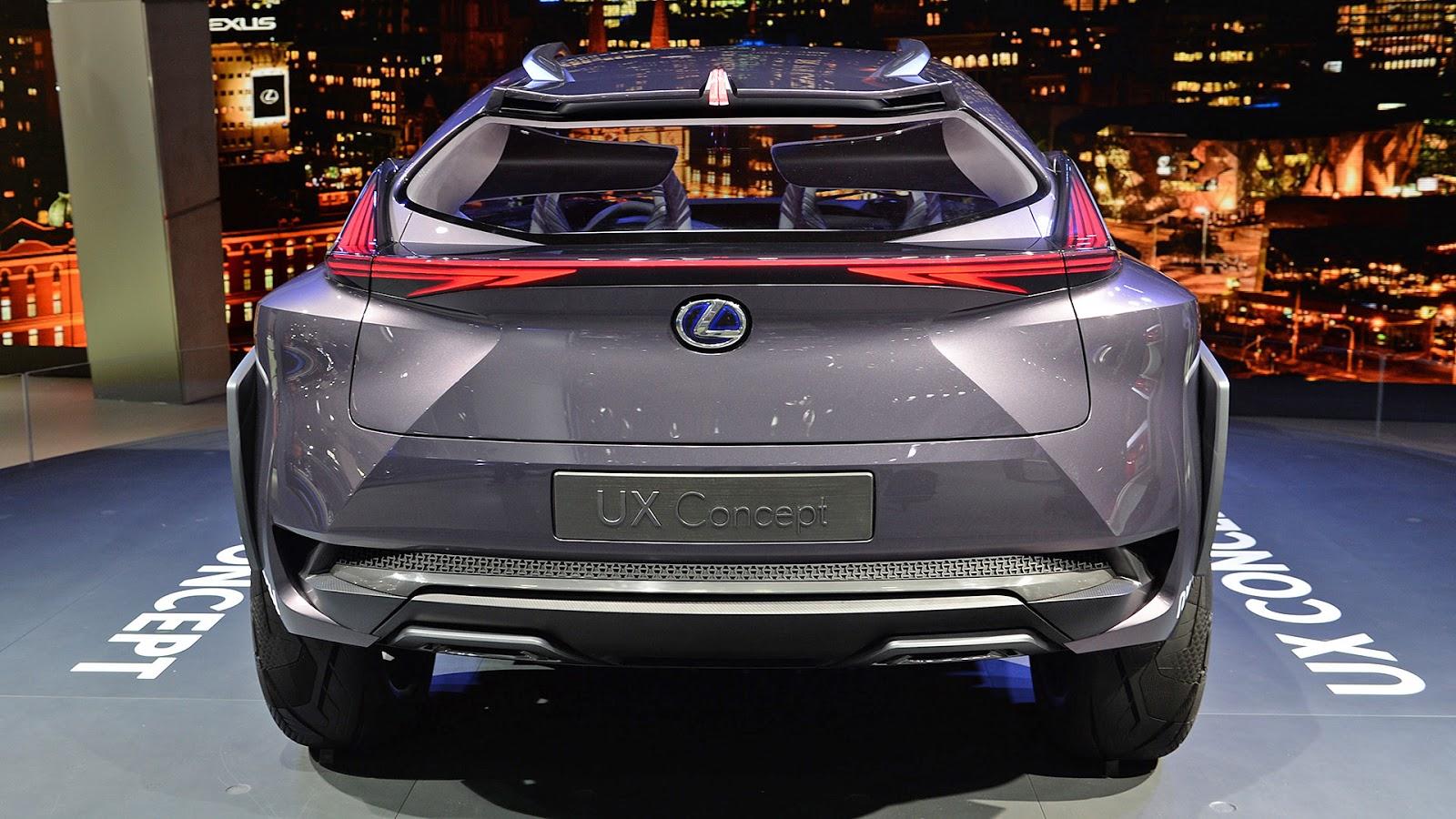Automotiveblogz: Lexus UX Concept: Paris 2016