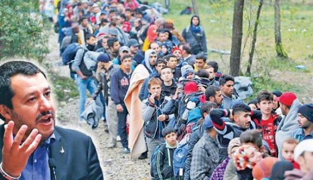 Κλείνει στους μετανάστες και την ξηρά τώρα ο Σαλβίνι