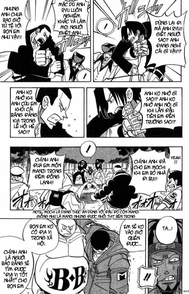 Shaman King [Vua pháp thuật] chap 22 trang 12