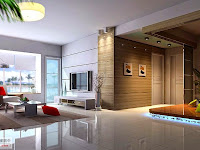 Living Room Decorating Ideas with Big Screen TV
