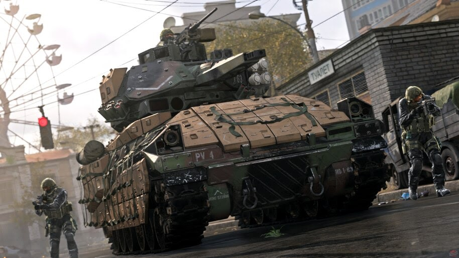 Call of Duty Modern Warfare, Tank, 4K, #5.983