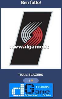 Soluzioni NBA Team Quiz livello 12