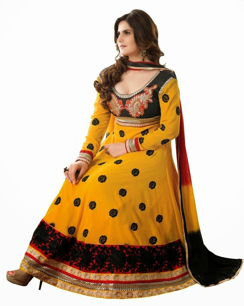 33fa299876 Nowadays number of Indian fashion designers have designed fancy suits  according to the wedding/parties. The usage of floral embroideries,  embroidered laces ...