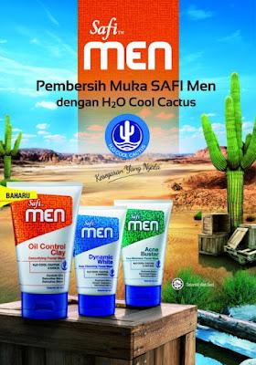 pencuci muka safi untuk lelaki Men
