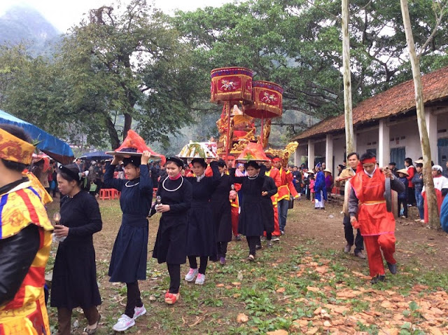 Long Tong festival in Tuyen Quang province 3