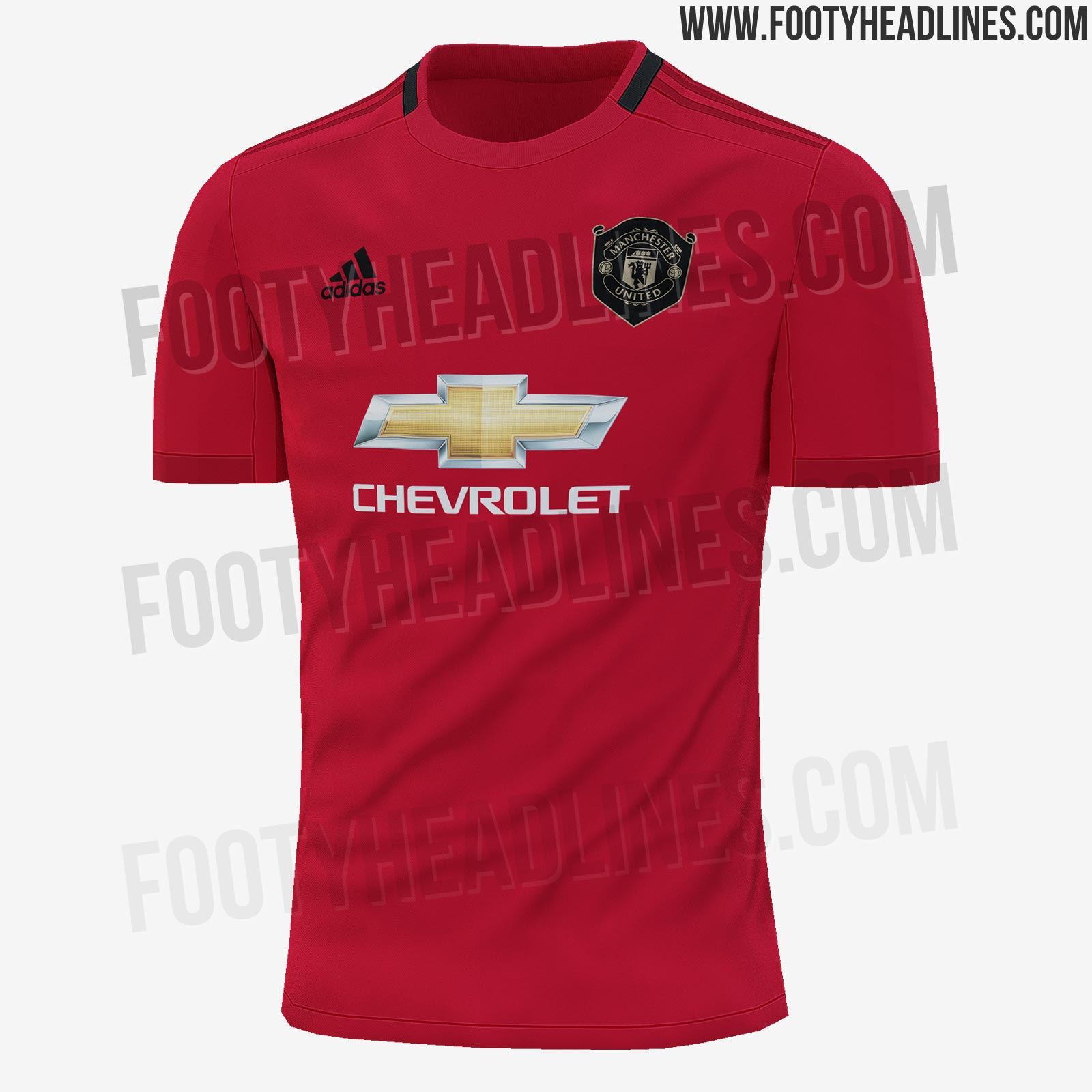 a00a4bcb977 Here Is How The New Adidas Manchester United 19-20 Home Kit Will ...