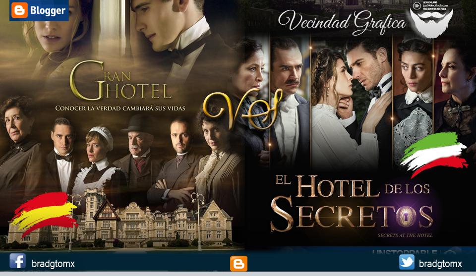 Vecindad grafica gran hotel vs el hotel de los secretos for Bazzel el jardin de los secretos