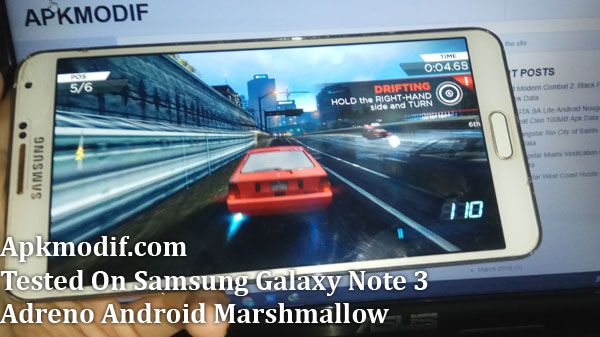 Apkmodif.com Download NFS Most Wanted Lite Mod Android Only 400MB Apk Data Obb