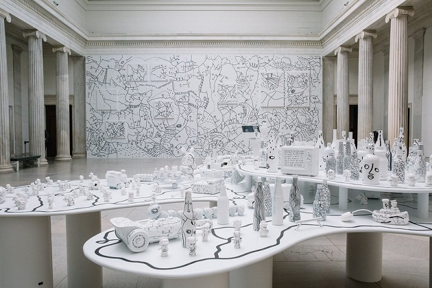 5 Shantell Martin - Someday We Can Installation view Albright-Knox