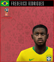 PES 6 Faces Frederico Rodrigues by Dewatupai