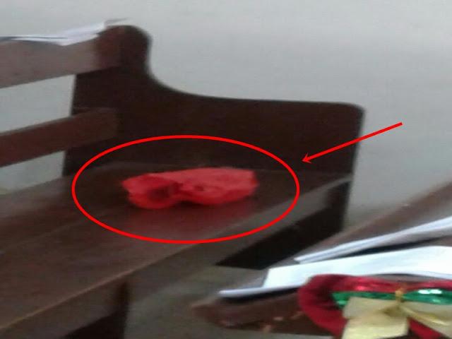 Sempat Dikira Bom, Benda Mencurigakan Terbungkus Plastik Di Gereja Ini Ternyata..