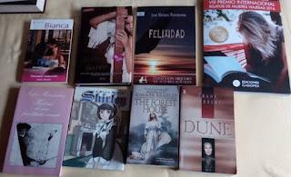 Prioridad:seducción, Hijos de otro barro, Felixidad, Premio Mujeres viajeras, Historia de una prostituta vienesa, Shirley, The forest House y Dune