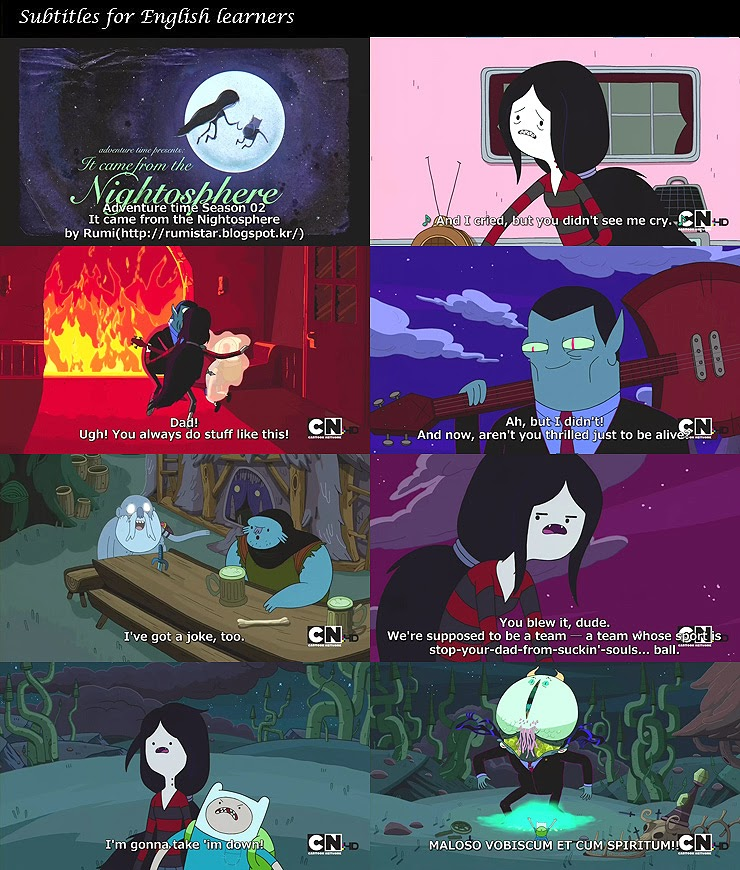 🔥 Adventure Time English subtitles