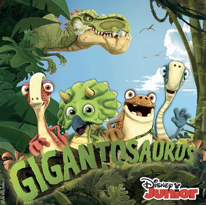 Gigantosaurus on Disney Junior