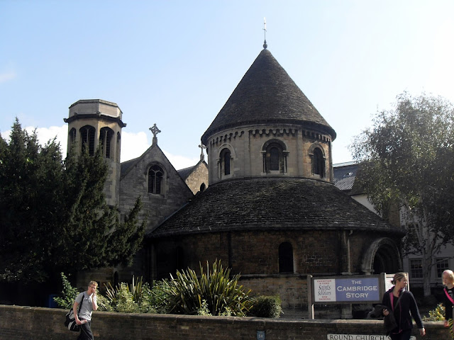 iglesia redonda de cambridge