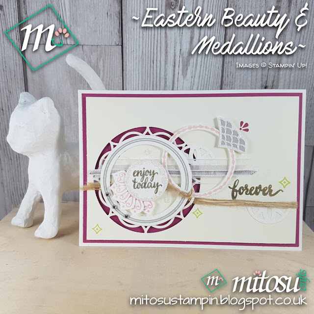 Stampin Up UK Eastern Beauty and Medallions Jay Mitosu Shop Stampinup SU Online 2