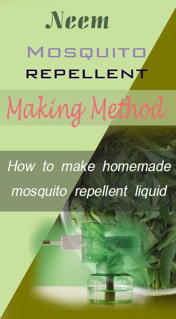 neem mosquito reppellent