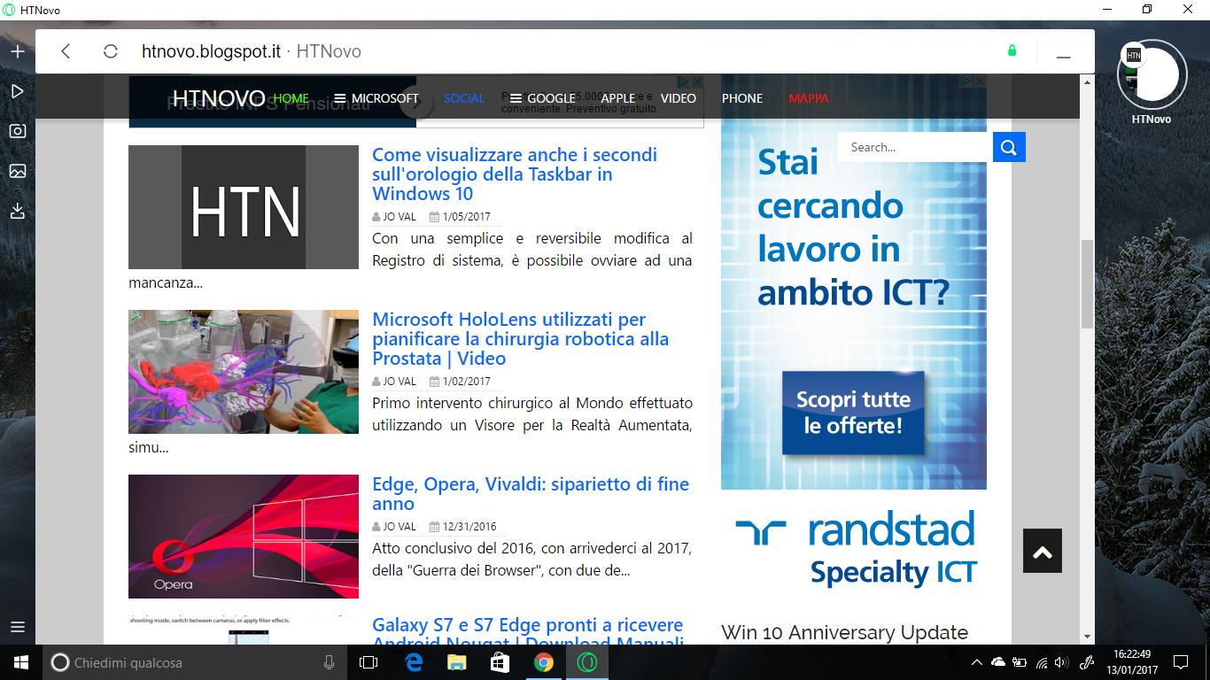 Neon, il nuovo Browser del Team di Opera | Video, Immagini, Download 4 HTN