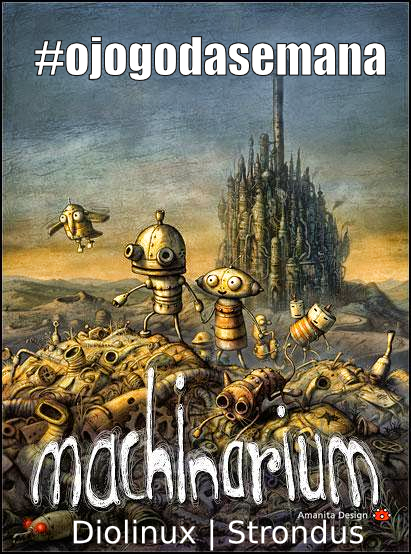 Sorteio do game Machinarium