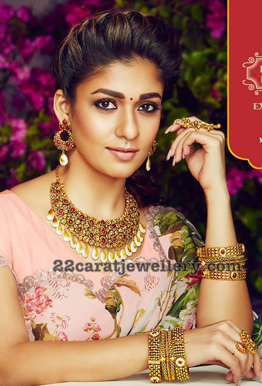Nayantara S Grt Jewellers Ad Jewellery Designs