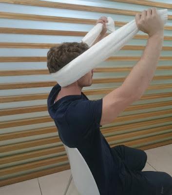 Intermittent Pain: C2-C3 Self-SNAG - El Paso Chiropractor