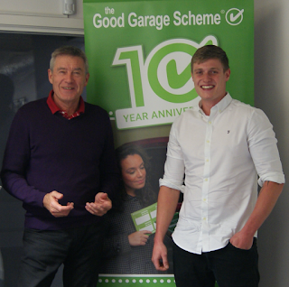 10 Year Anniversary banner, Tiff Needell, James Brown