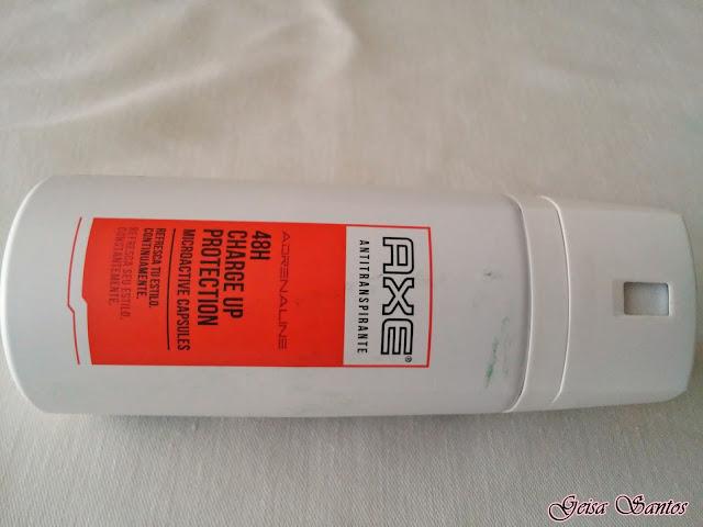 Comprei e gostei: Antitranspirante Axe